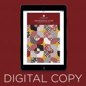 Digital Download - Wandering Star Pattern by Missouri Star