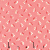 Sweet Sixteen - Tossed Bud Pink Yardage