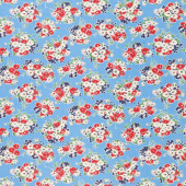 Good Times - Bouquet Blue Yardage