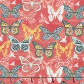 Monarch Grove - Butterflies Multi Digitally Printed Yardage