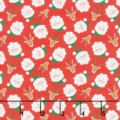 Jolly Season - Santas Cheery Yardage