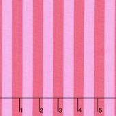 Tula Pink's All Stars - Pom Poms & Stripes Tent Stripe Poppy Yardage