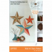 Fabriflair Wall Art Stars Pattern