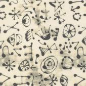 Art History 101 - Miro Glyphs Typeface Yardage