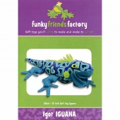Igor Iguana Funky Friends Factory Pattern