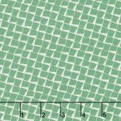 Sorbet - Squares Green Yardage