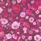 Petal Park - Rose Garden Dahlia Fabric Yardage