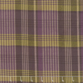 Itty Bitty - Large Plaid Purple Yarn Dye Yardage