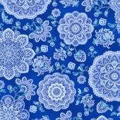 Dutchess - Dutchess Blue Metallic Yardage
