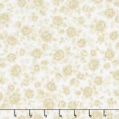 Eaton Place - Roses Ivory Yardage