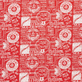"""Paperdoll - Paperdoll Text Red 108"""" Wide Backing"""