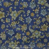 La Provence - Flowers Blue Yardage