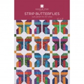 Strip Butterflies Quilt Pattern by Missouri Star
