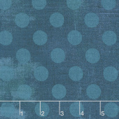Grunge Hits the Spot - Prussian Blue Yardage
