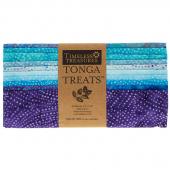 """Tonga Treats Batiks - Colorwheel Plume 10"""" Squares"""