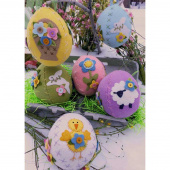 Sweet Stitched Easter Eggs Kit