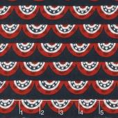 Celebrate America! - Banners Navy Yardage