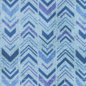 Tessellations - Broken Chevron Aqua Yardage