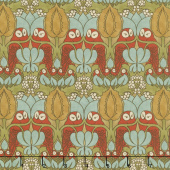 Voysey - The Owl 1897 Russet Yardage