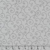 "Kimberbell - Scroll Grey 108"" Wide Backing"