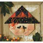 Whimsical Witch Espresso® Ornament Kit