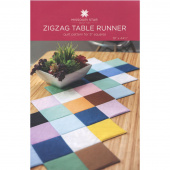 Zig Zag Table Runner Pattern by Missouri Star