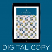Digital Download - Nine Patch Swap Quilt Pattern by Missouri Star