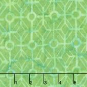 Tonga Batiks - Grasshopper Maze Grass Yardage