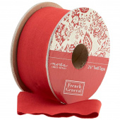 "Chafarcani Twill Trim - 2 1/4"" Red"