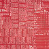 Farm Girl Vintage - Canning Red Yardage