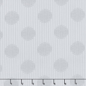 "Simply Neutral - Large Dot Gray 108"" Wide Backing"