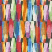 "108"" Quilt Back - Lava Lamp Black 108"" Wide Backing"