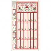 Comfort & Joy - Advent Calendar Natural Panel