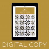 Digital Download - 4 Patch Stars Quilt Pattern by Missouri Star
