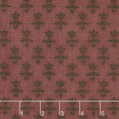 Wit & Wisdom - Fleur De Lis Plum Yardage