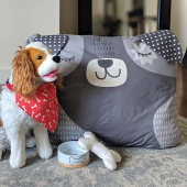 Cut Sew Create - Doggie Bed, Scarf and Toy Kit