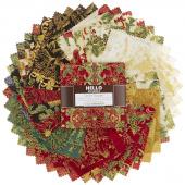 Holiday Flourish 12 Holiday Metallic Charm Pack