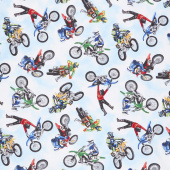 Novelty - Dirt Bikes Multi Yardage