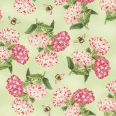 Le Bouquet - Bouquet and Bee Toss Green Yardage