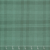 Primo Plaids - Lumber Jacks Tattersal Green Flannel Yardage
