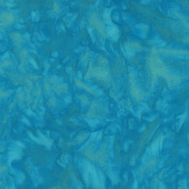 Lava Batik Solids - Lagoon Lava Teal Yardage