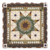 American Quilts Coaster - Lone Star