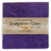 Stonehenge Gradations Brights - Amethyst Chips