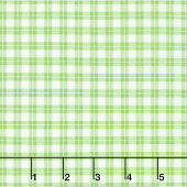 Elizabeth - Plaid Green Yardage