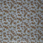 Country Road - Small Buds Autumn Sky Yardage