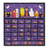 Happy Halloween Advent Calendar Kit