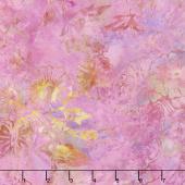 Tonga Batiks - Dragonfly Lily Pad Orchid Yardage
