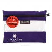 "MSQC's SEEYOURSTUFF Bag 6"" x 8"" - Purple"