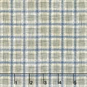 From the Farm - Pen & Ink Plaid Blue Yardage