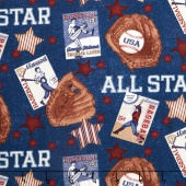 Play Ball - All Star Blue Yardage